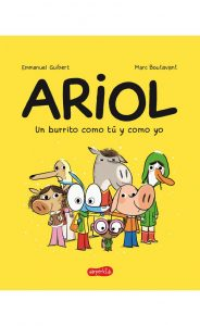Libro infantil Ariol, un burrito como tú y como yo