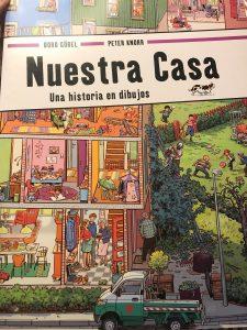 Libro infantil Nuestra casa, una historia en dibujos