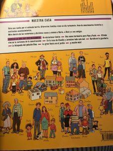 Libro infantil, Nuestra casa, una historia en dibujos