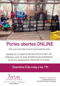 puertas abiertas escuela educación libre poblenou
