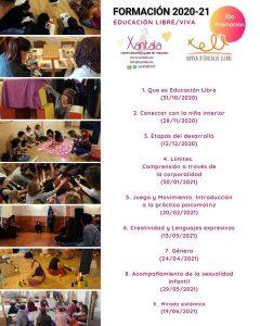 formación en educación libre