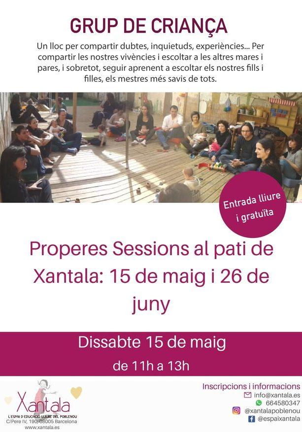 grupo crianza barcelona mayo