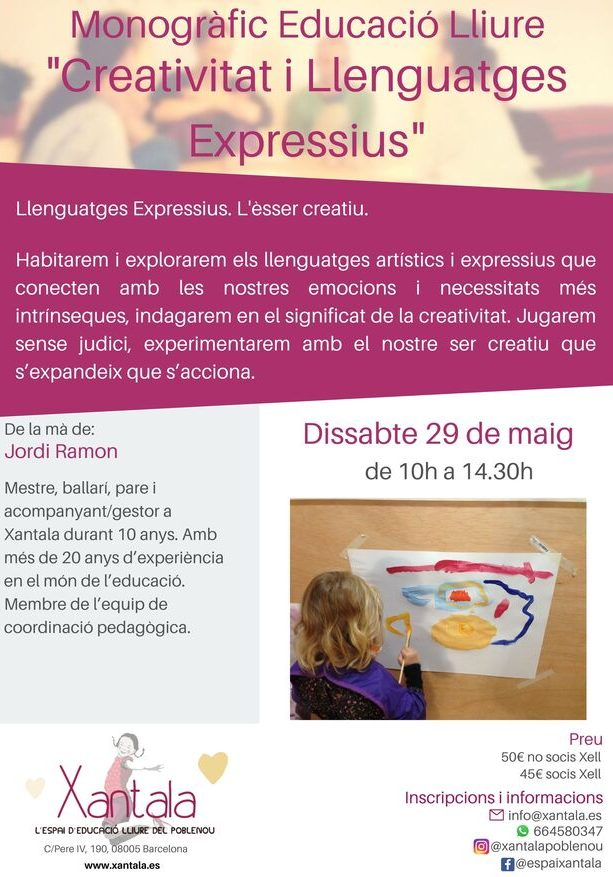 educación libre creatividad lenguajes expresivos