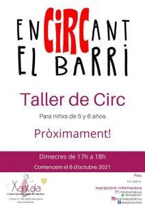 taller circo ninos barcelona