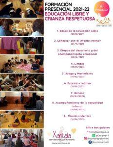 educación libre formación barcelona xantala