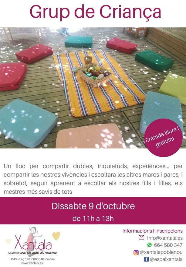 educación libre grupo de crianza barcelona redes
