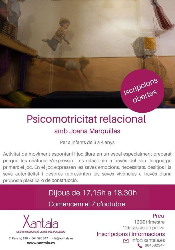 educación libre psicomotricidad infantil barcelona