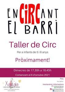educación libre taller de circo niños